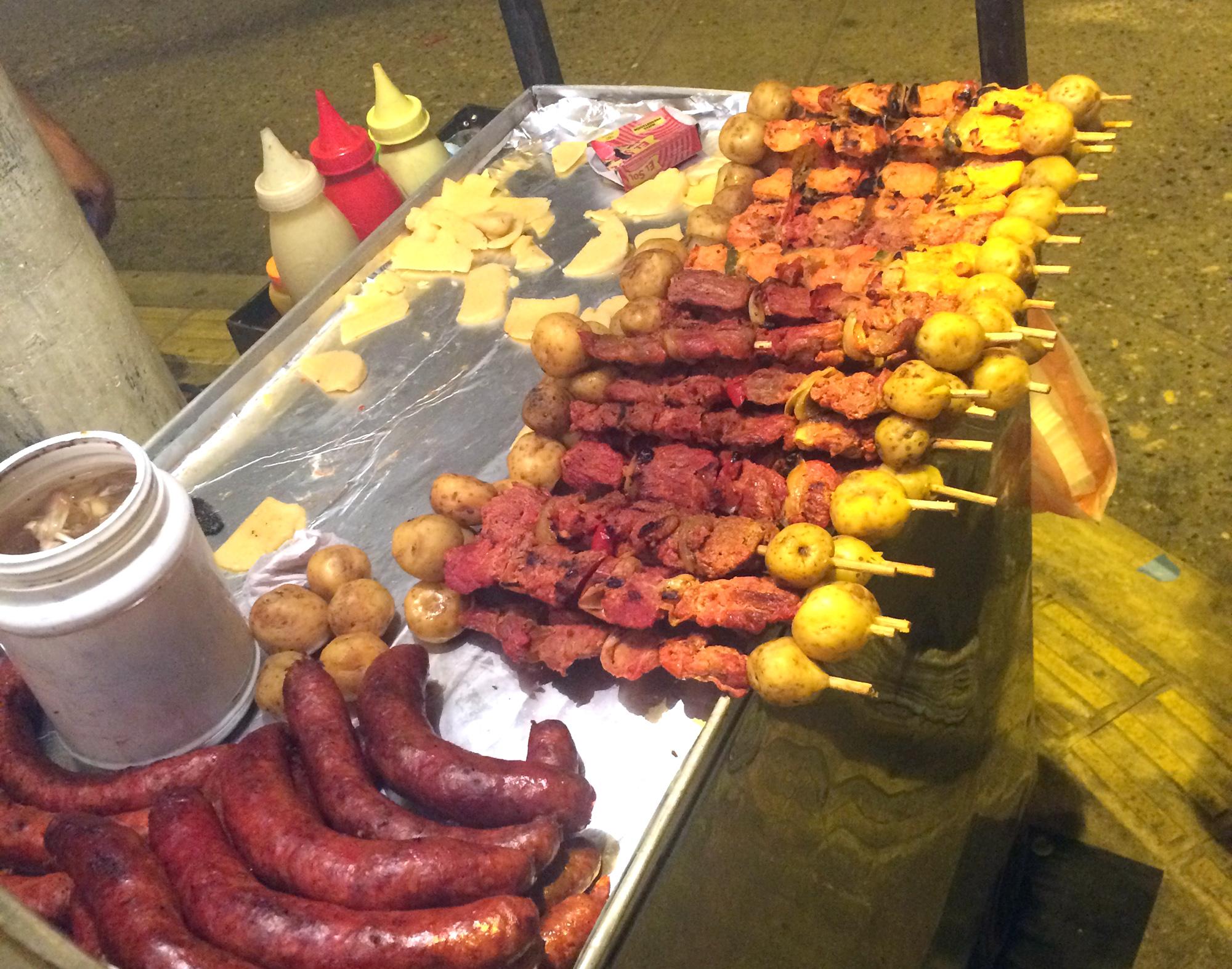 Colombian street food