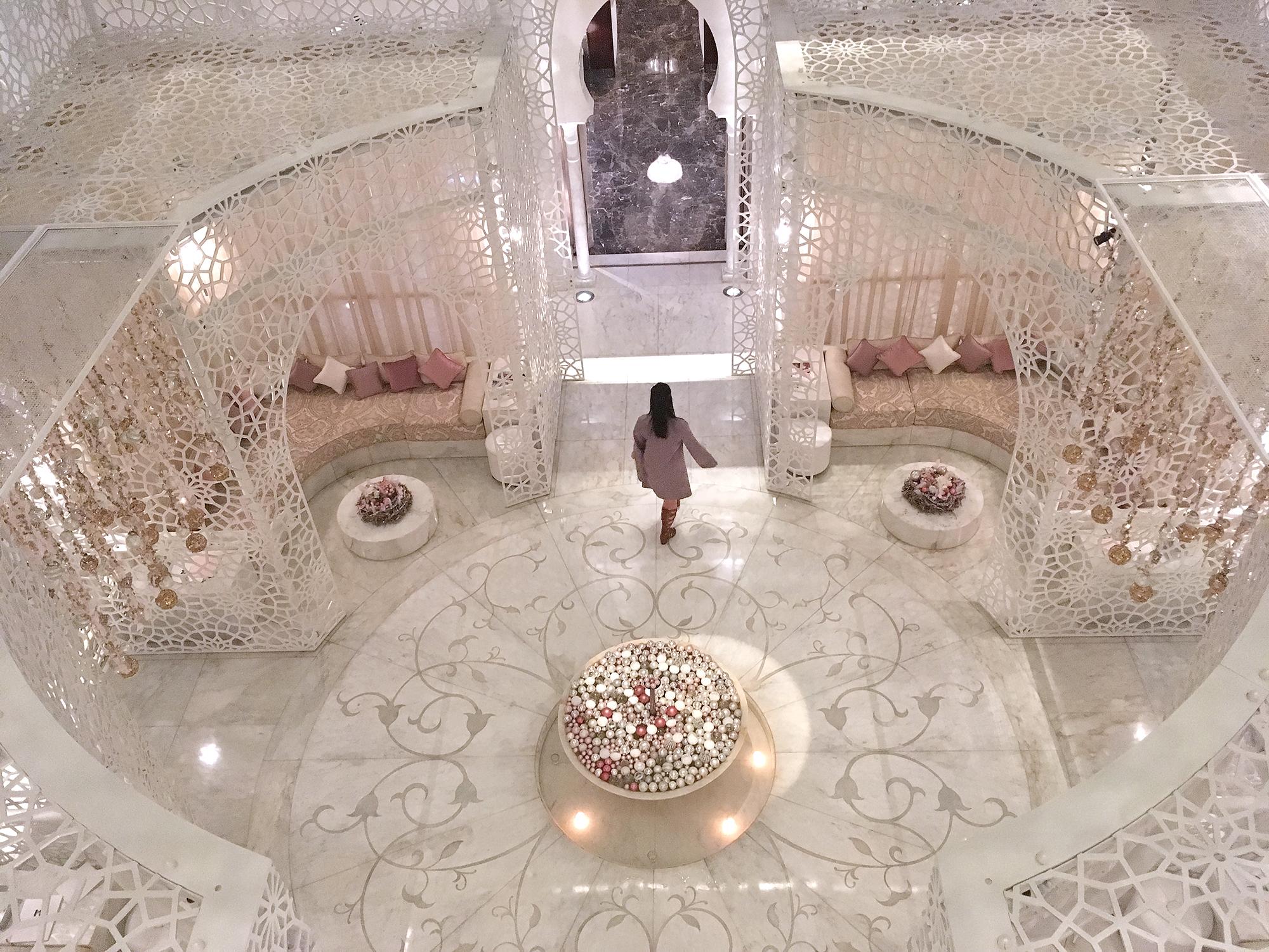 The Royal Mansour hammam, Marrakech