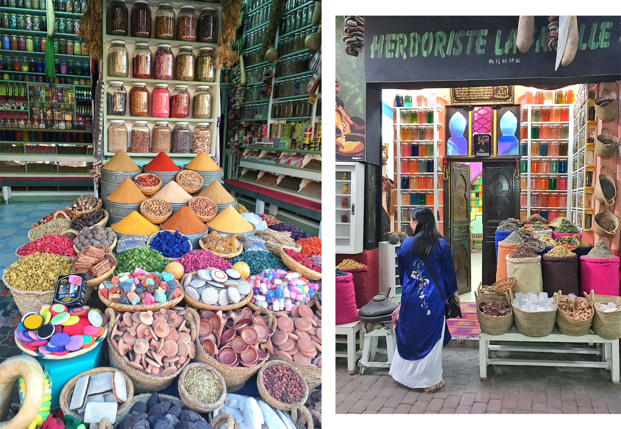 The Souks of Marrakech, spices