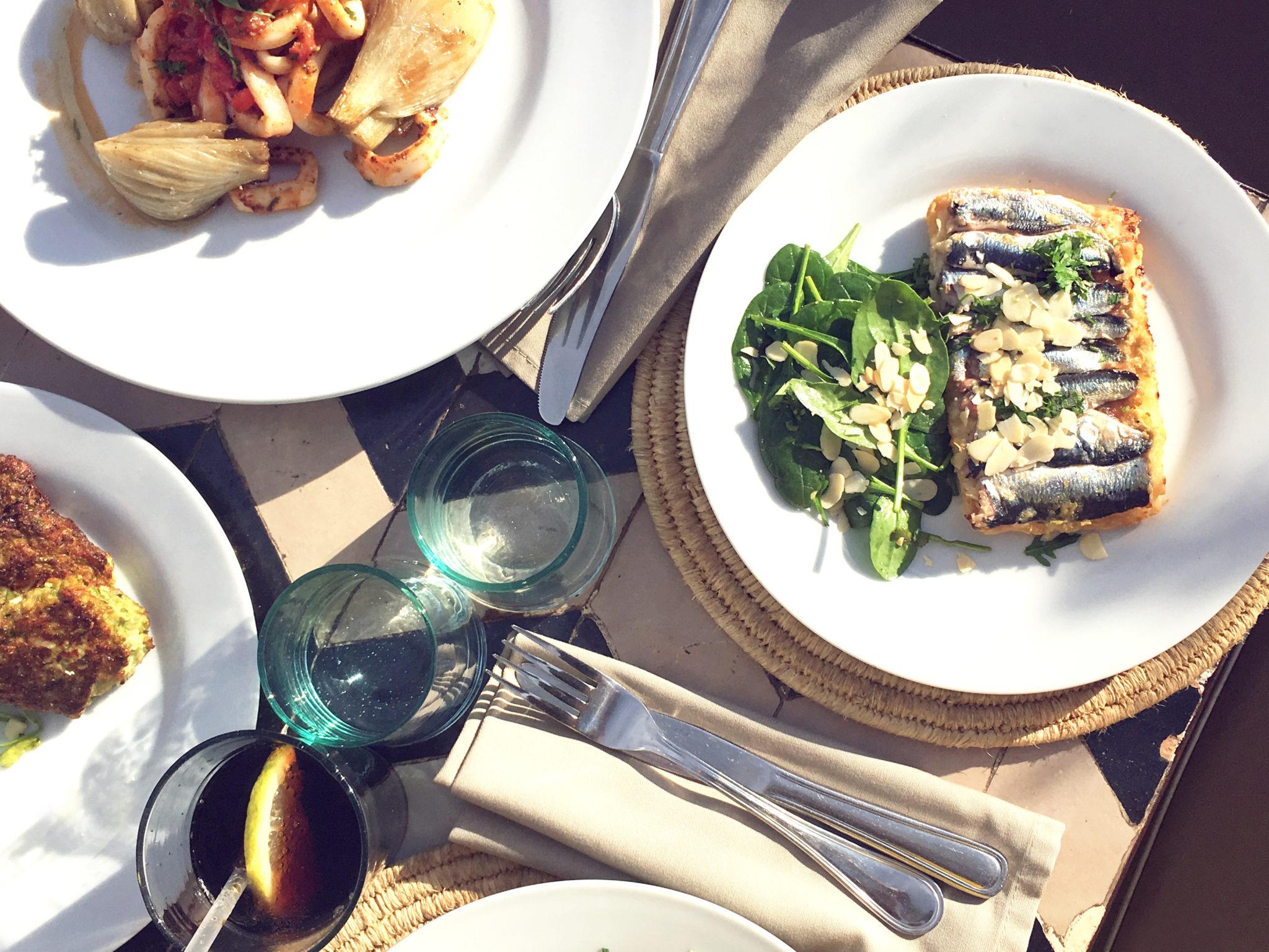 Nomad Marrakech sardine tart