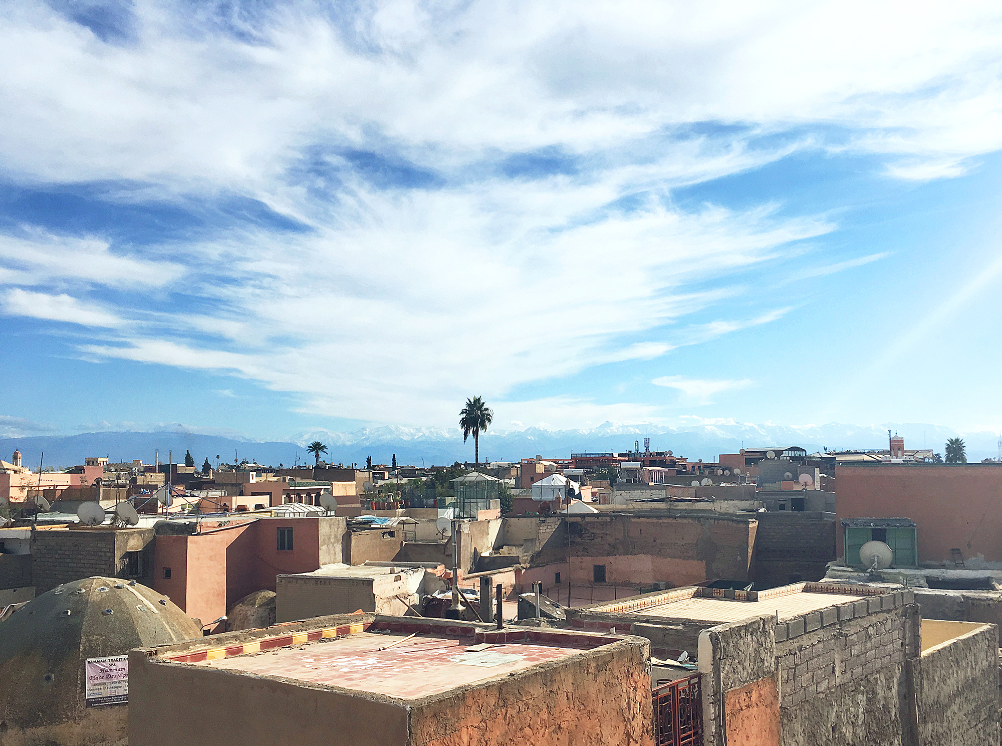 itinerary of Morocco