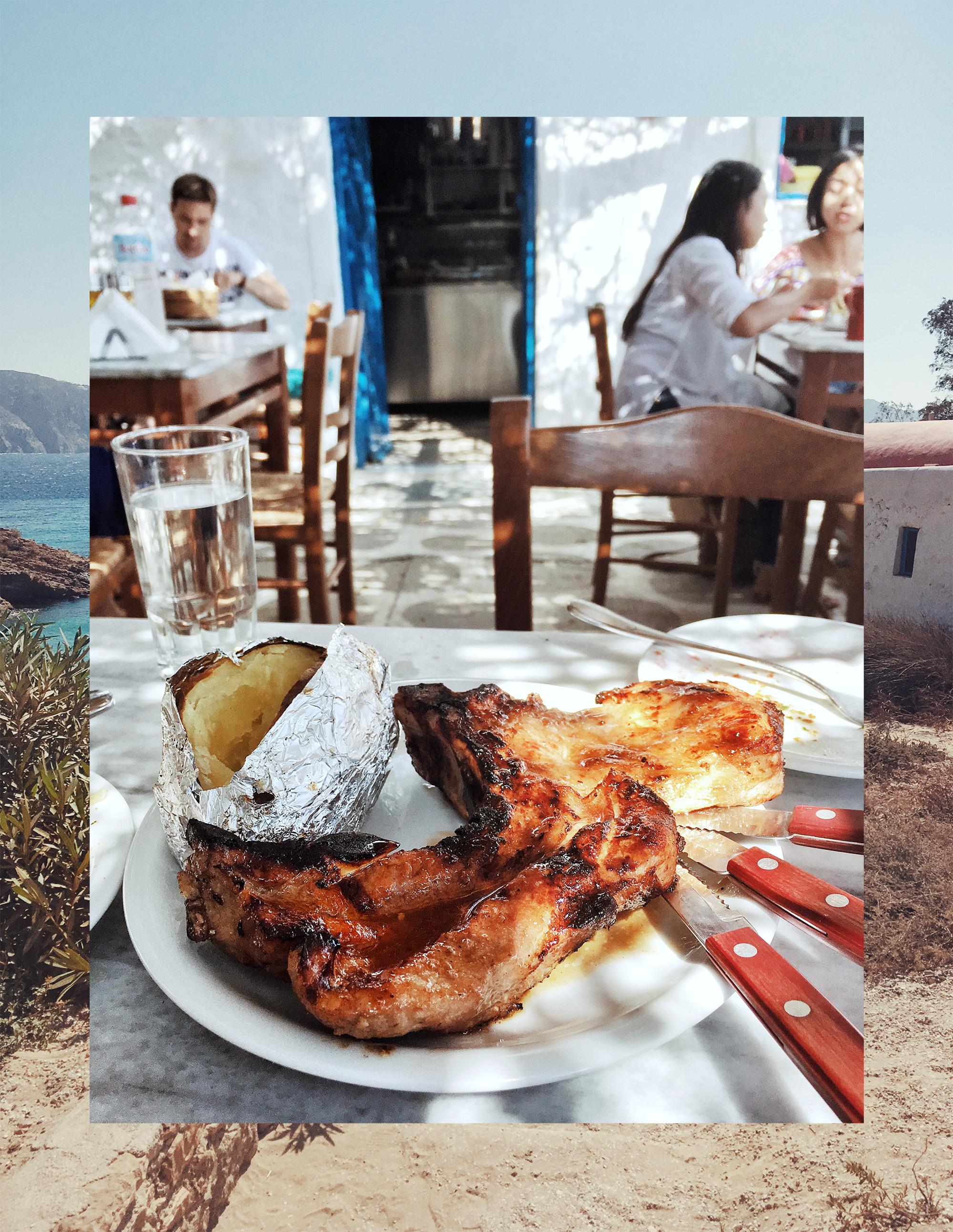 Kiki's Tavern in Mykonos