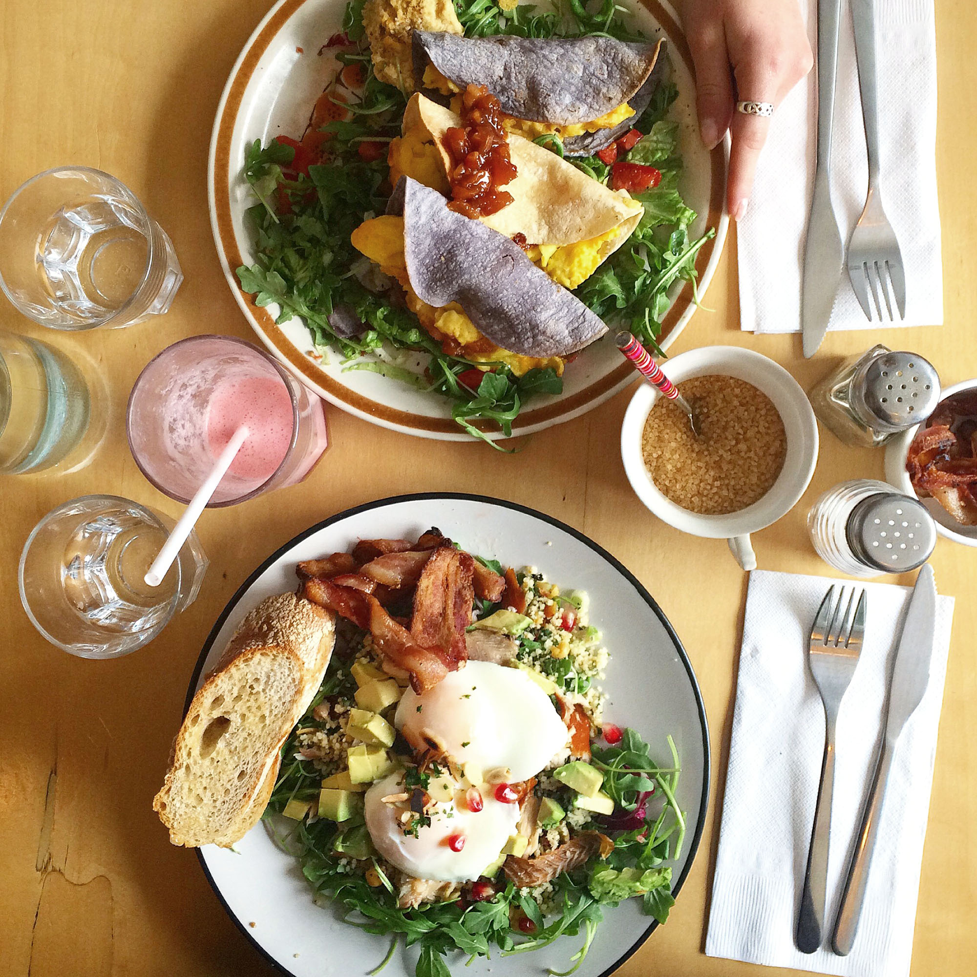 Toronto brunch - Saving Grace
