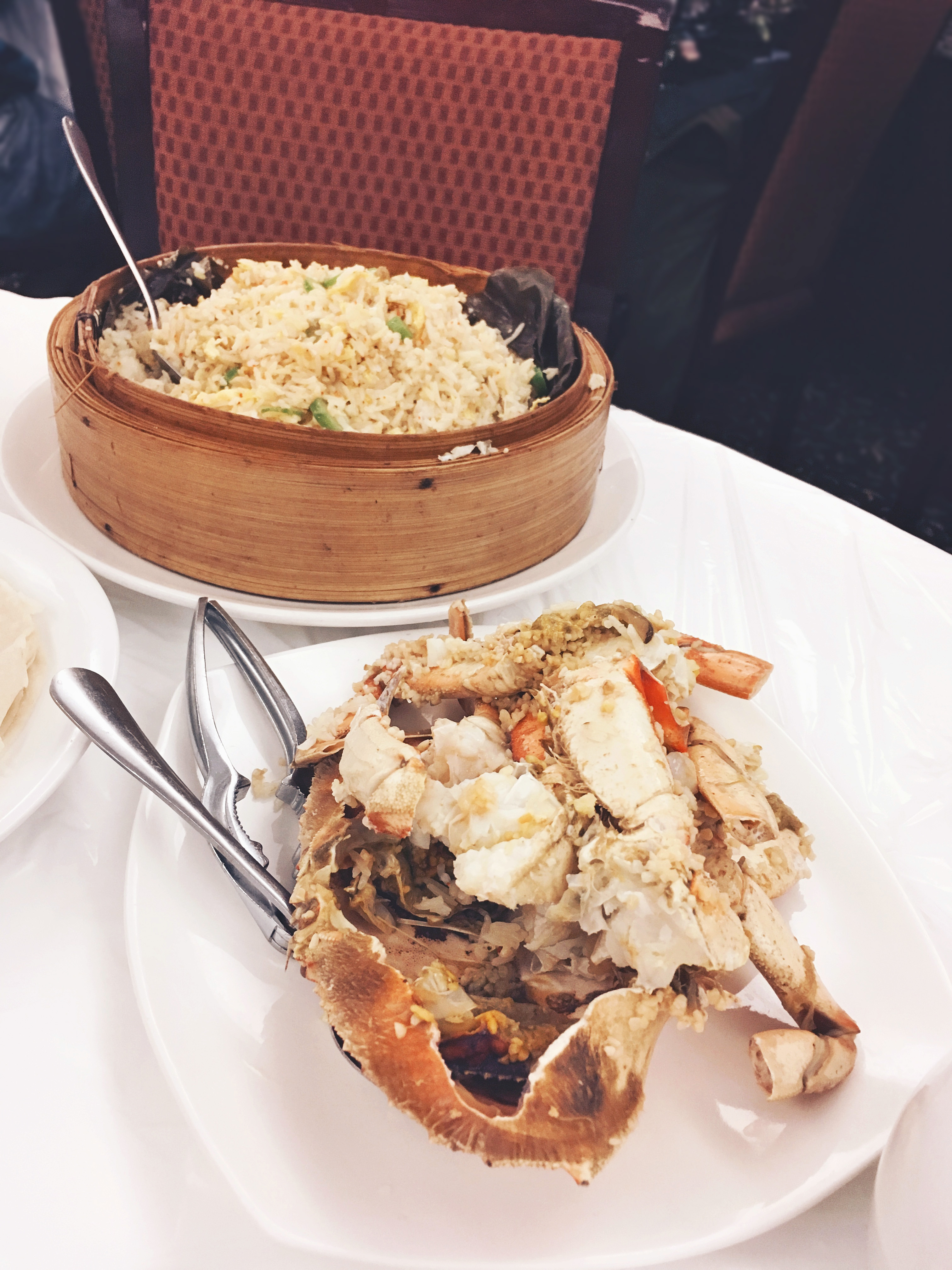 Crab fried rice, Taste of china