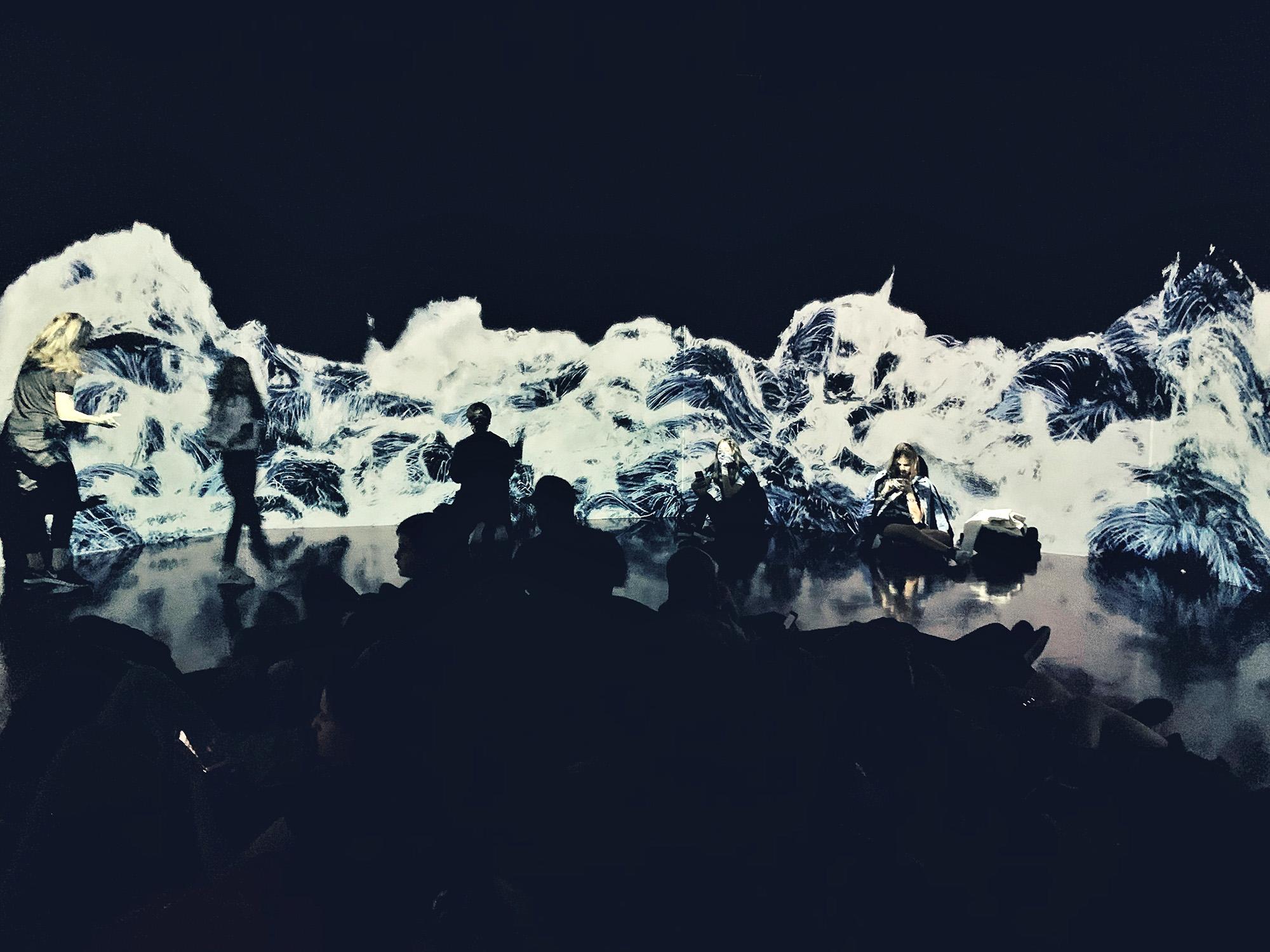 teamlab borderless - waves