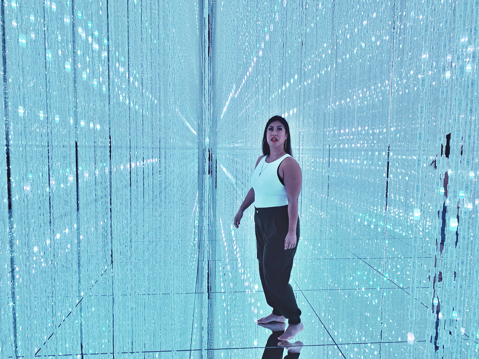 teamLab Planets - crystal room - 5-day Tokyo Itinerary
