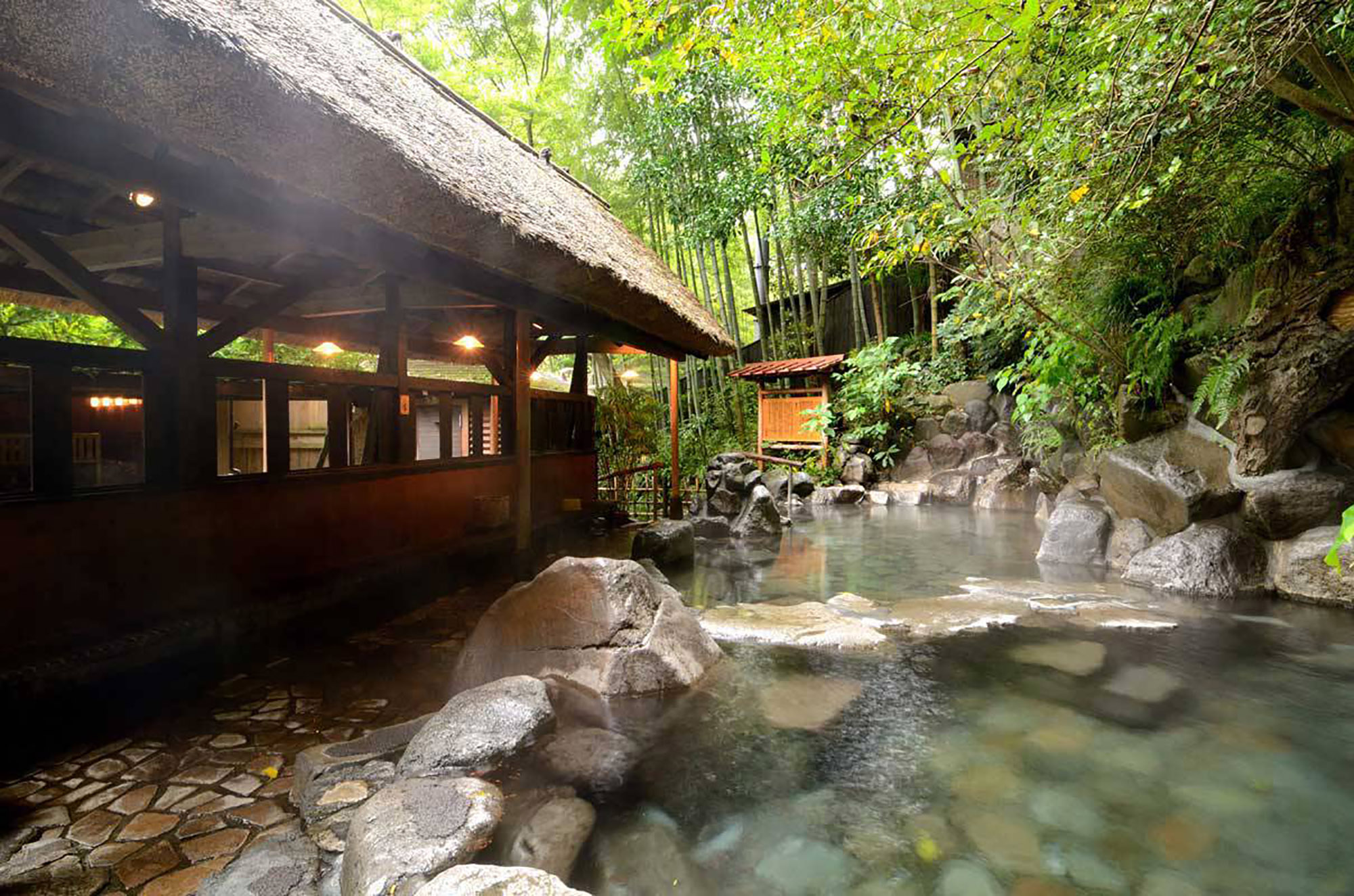 Japanese onsen in Hakone