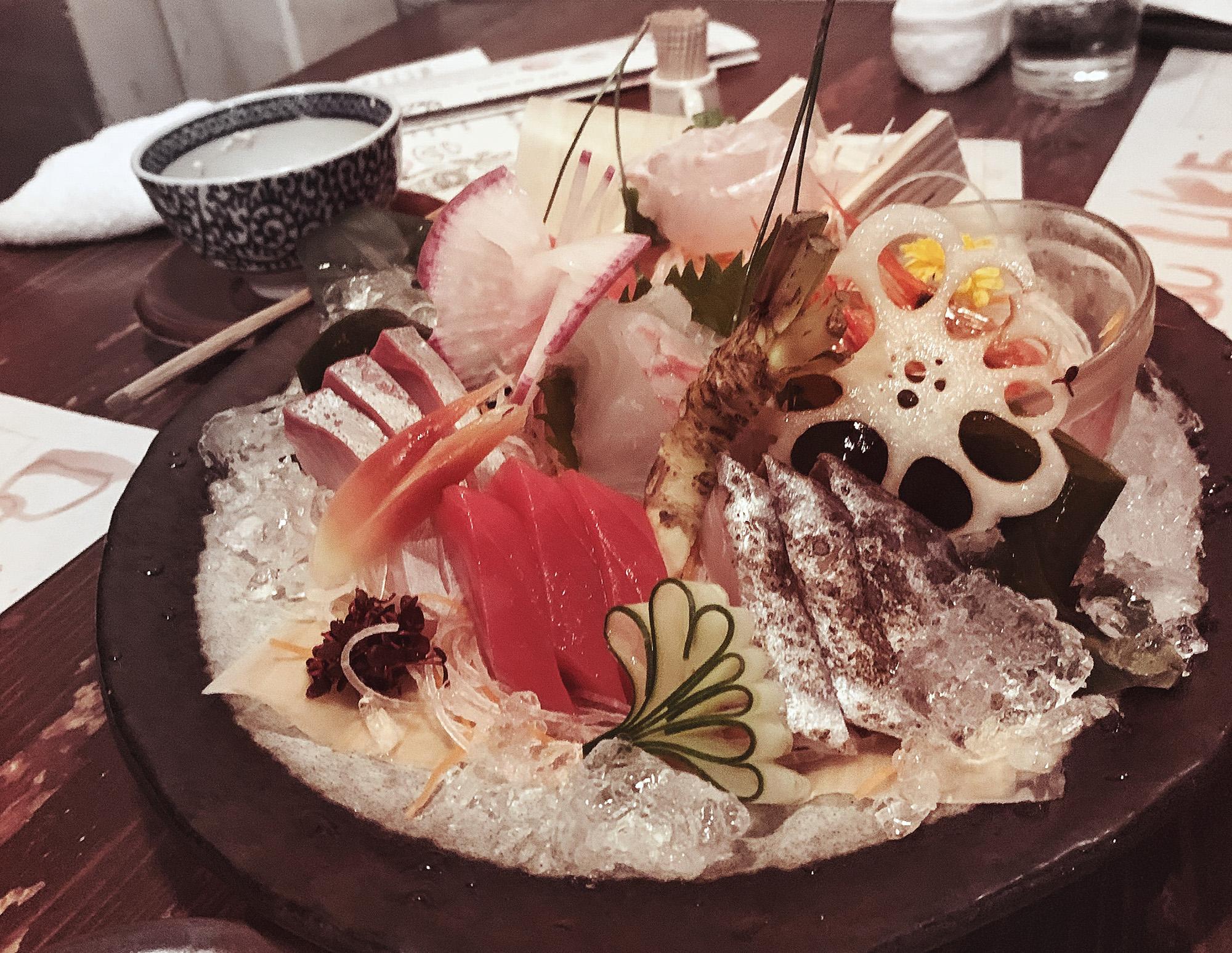 Tokyo Eats - sashimi