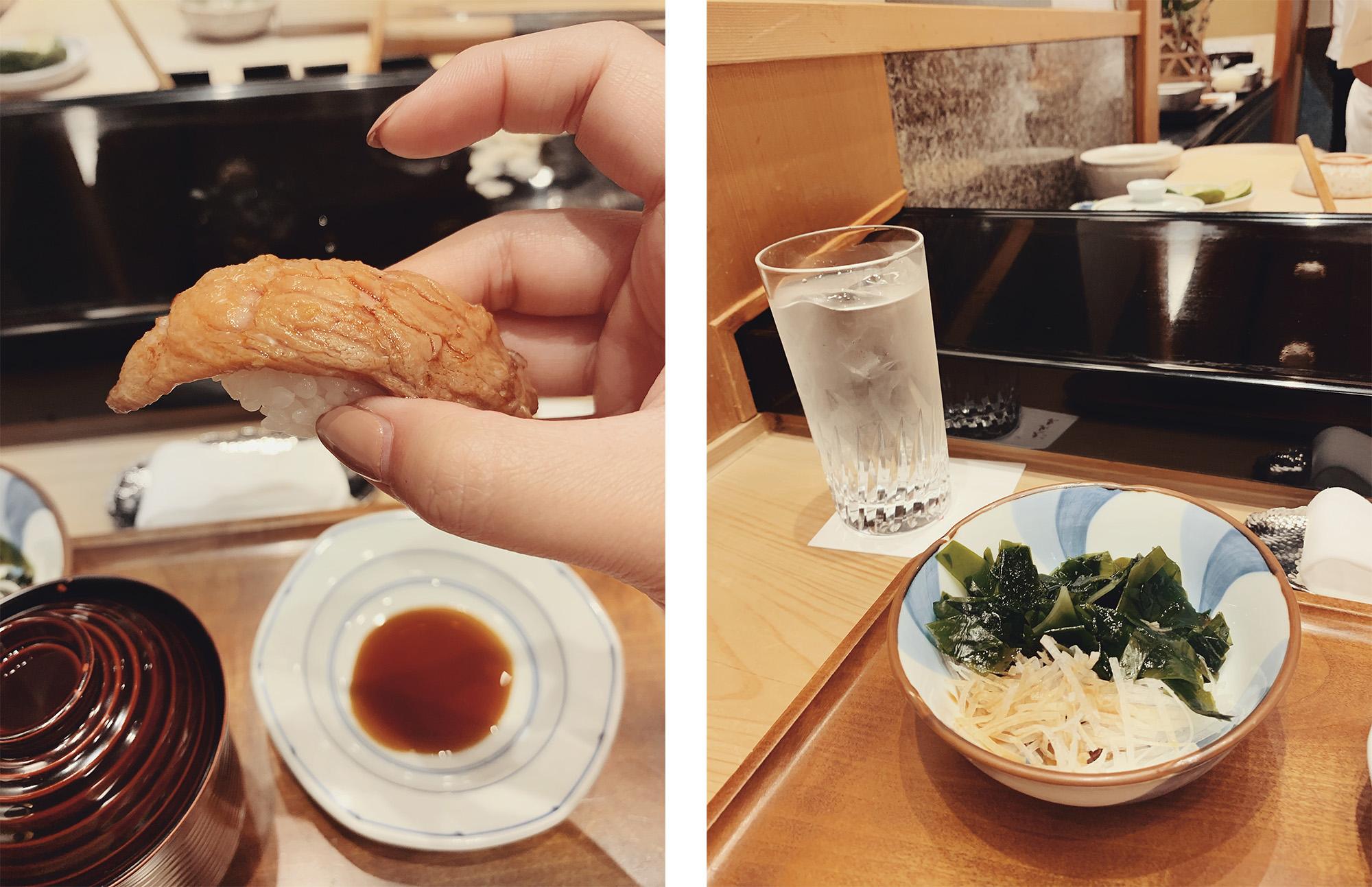 5-day Tokyo Itinerary - omakase at Kyubey in Ginza