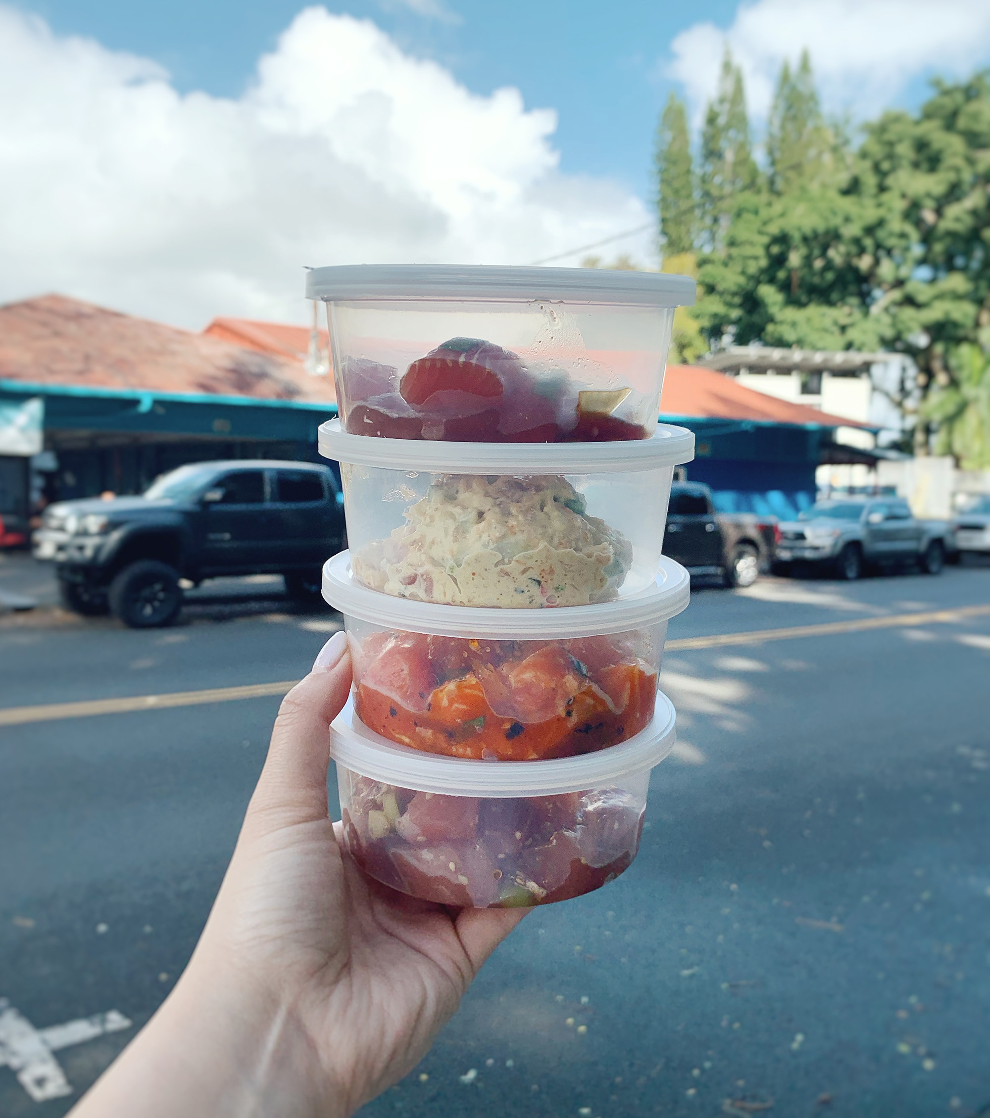 Hawaii Itinerary - where to eat in hilo - Poke