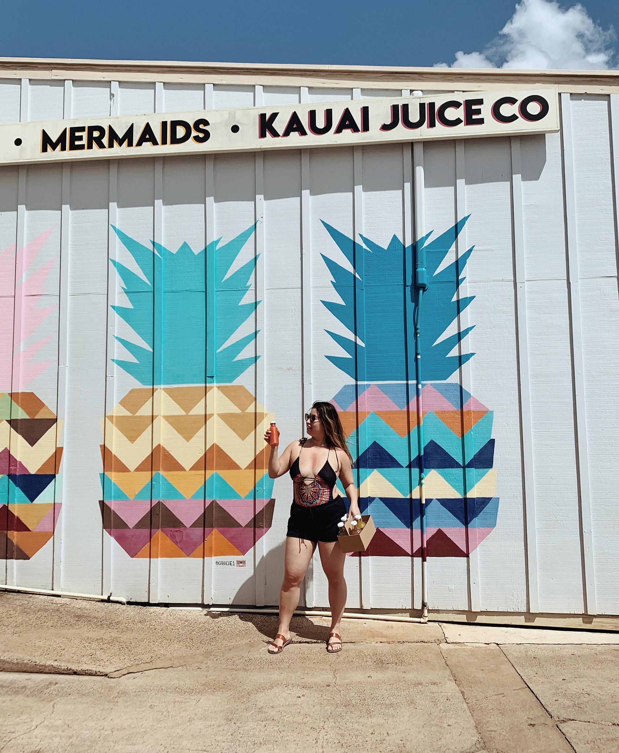 Hawaii Itinerary Eat Kauai Juice Co
