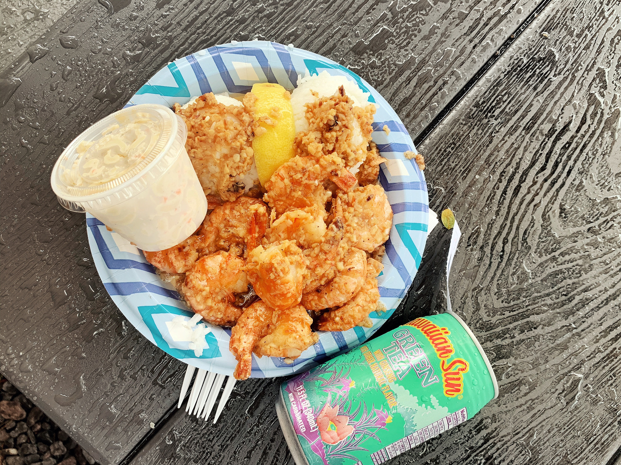 places to eat in Oahu, Hawaii - Giovanni's Shrimp Truck