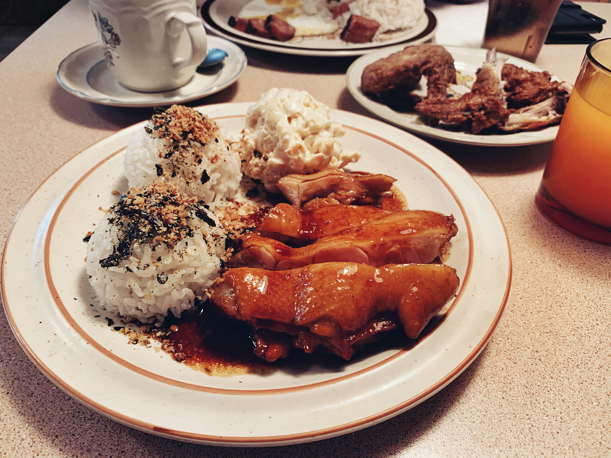 BB's Diner - Shoyu Chicken brunch