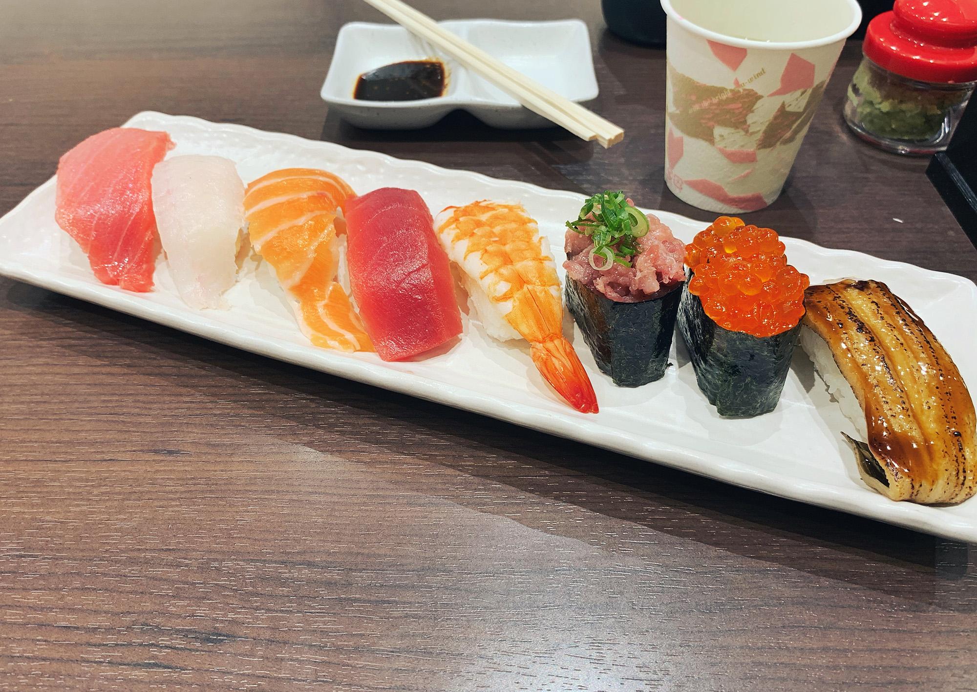 Kyoto Guide - Sushi Naritaya