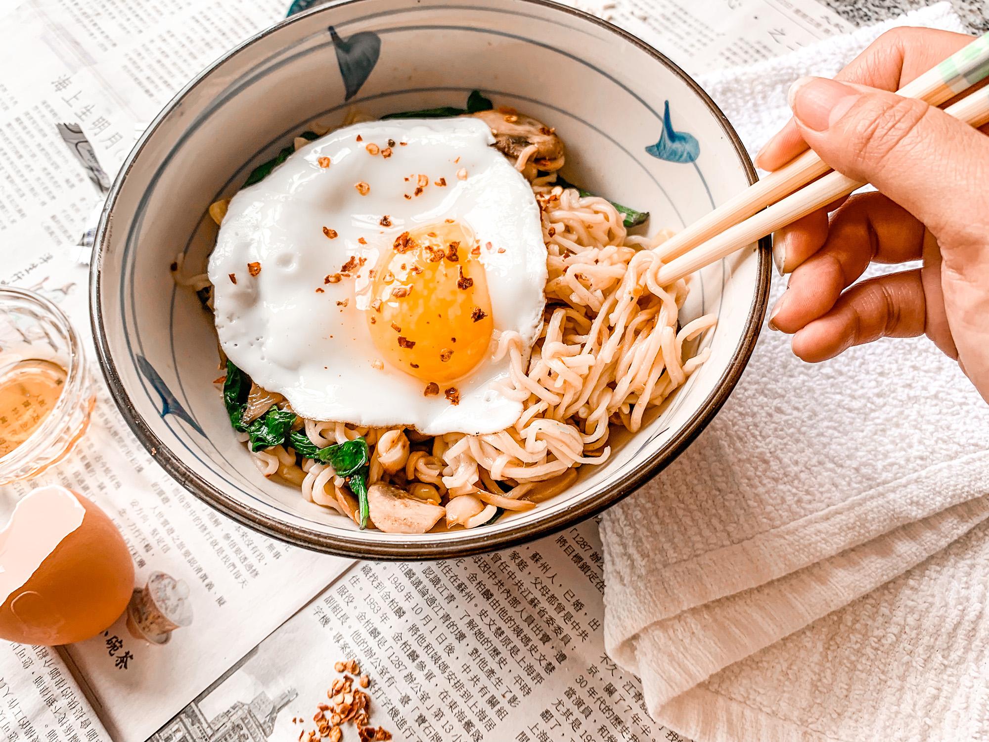 leftover ramen recipe