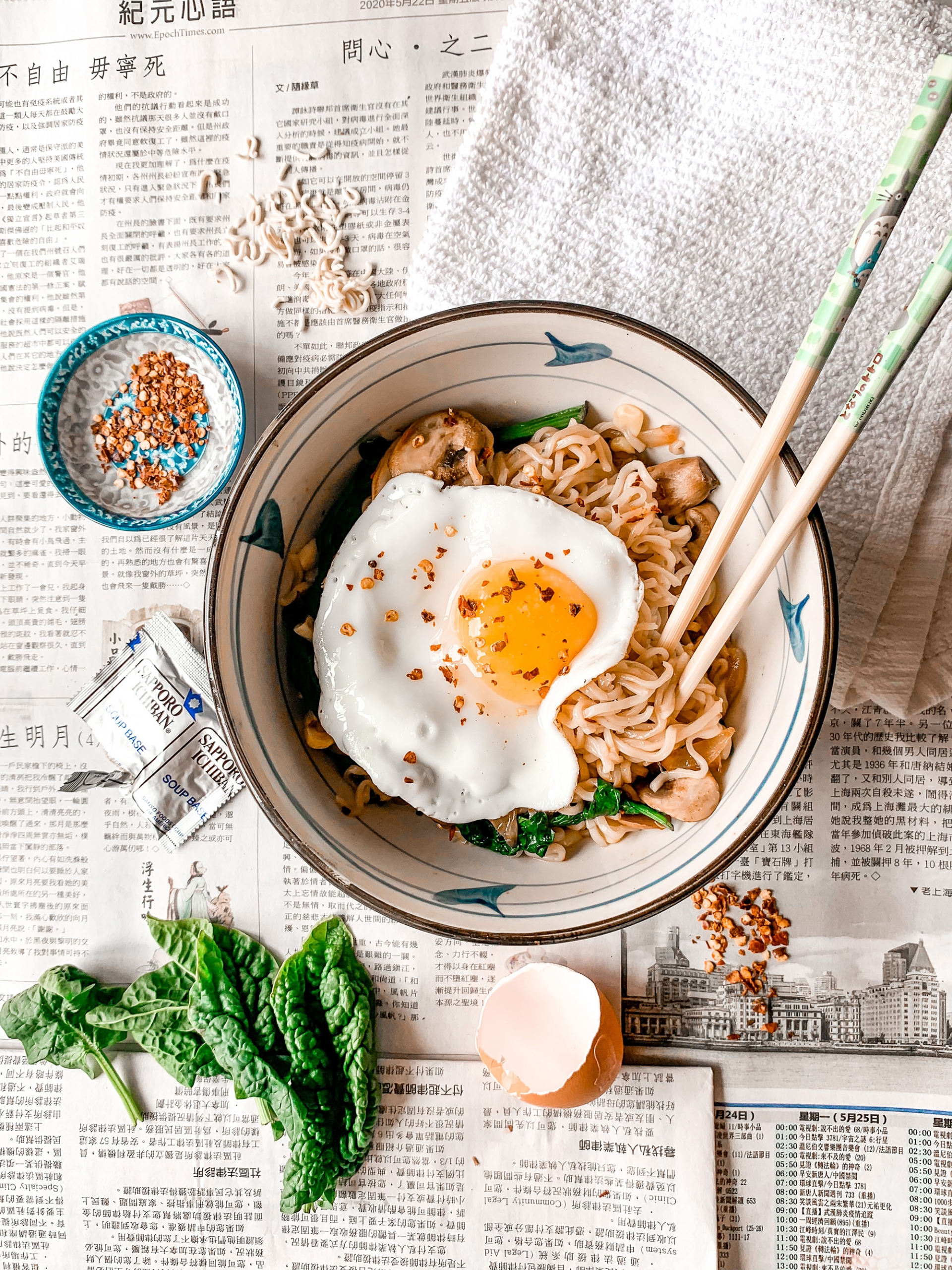 Ramen Stirfry recipe