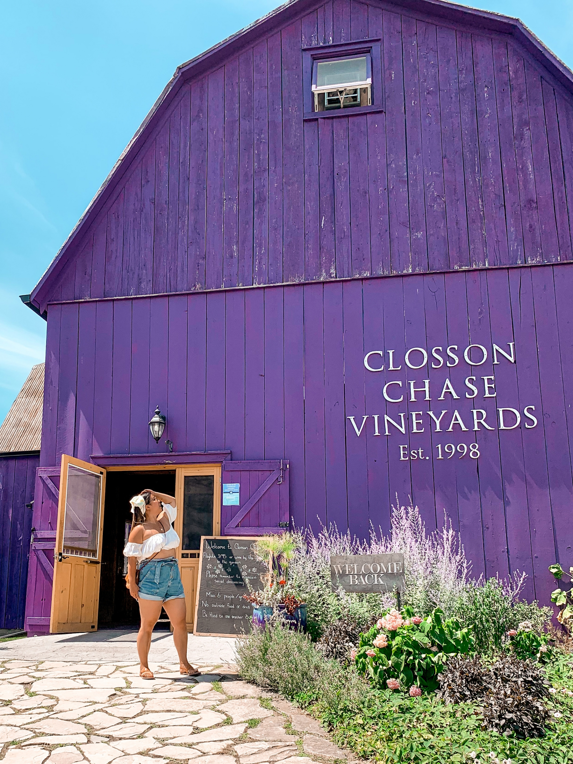 Prince Edward County wineries - Closson Chase Vineyards