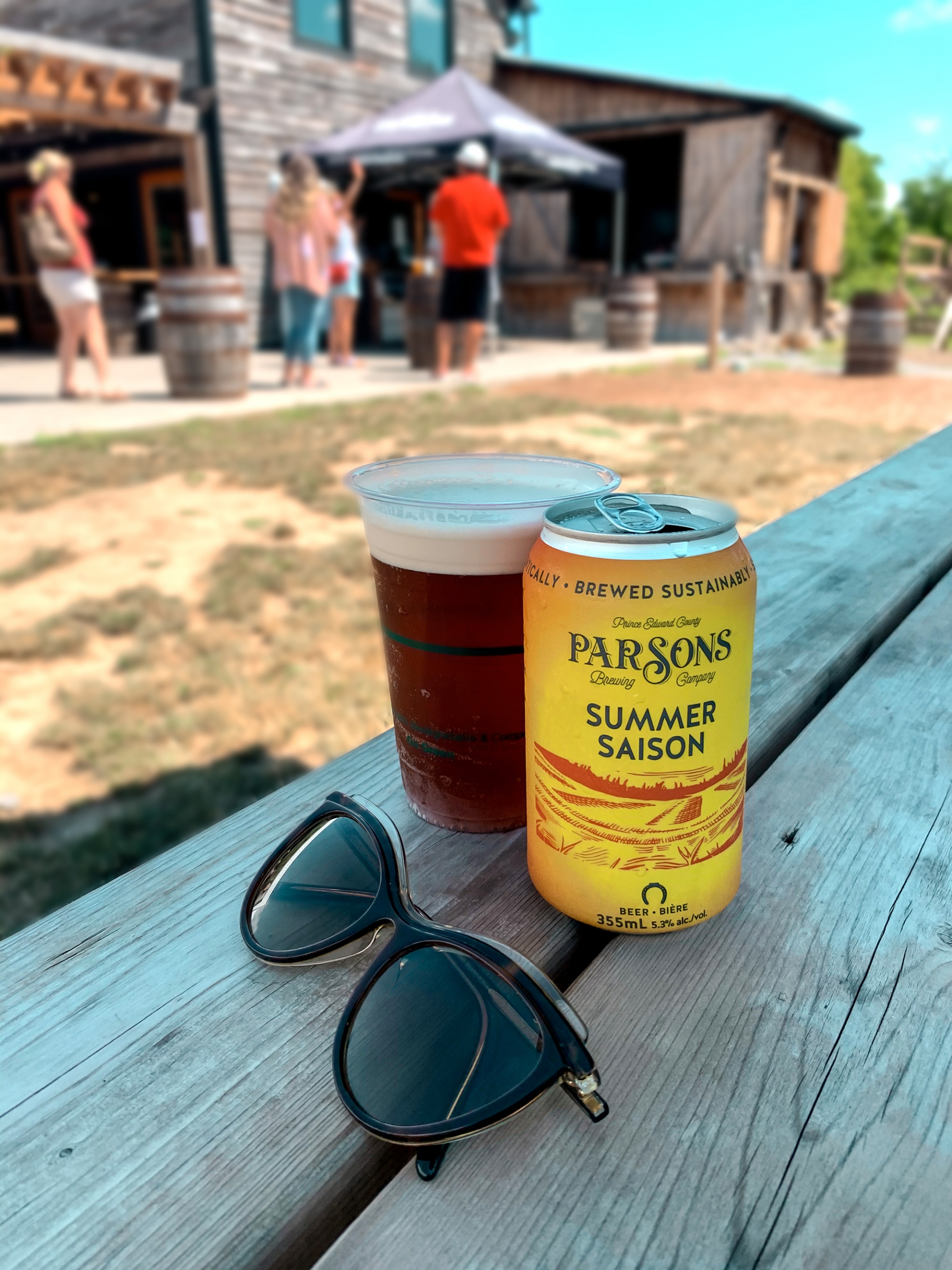 Prince Edward County wineries - Parsons Brewing