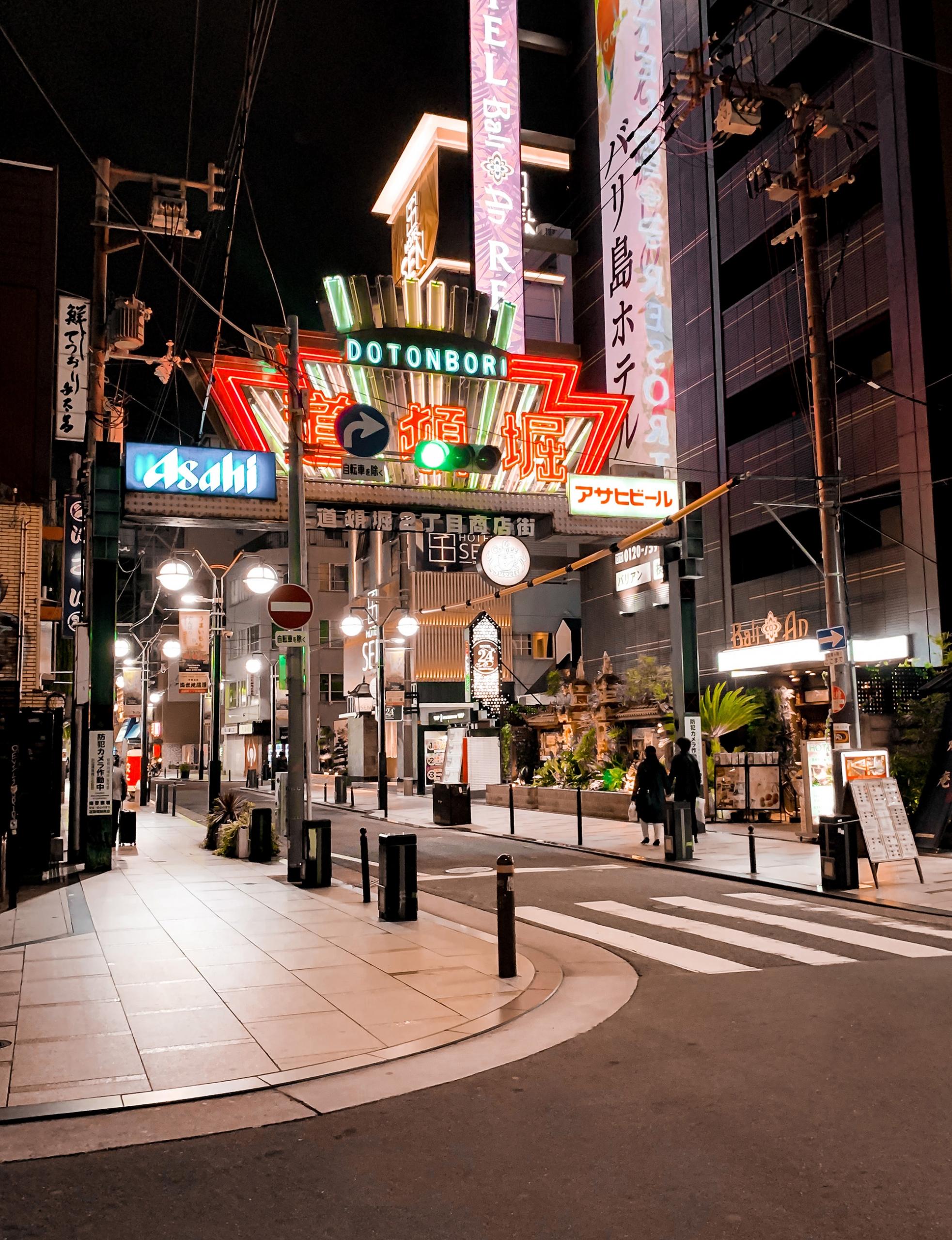street food in Osaka - Dotonbori