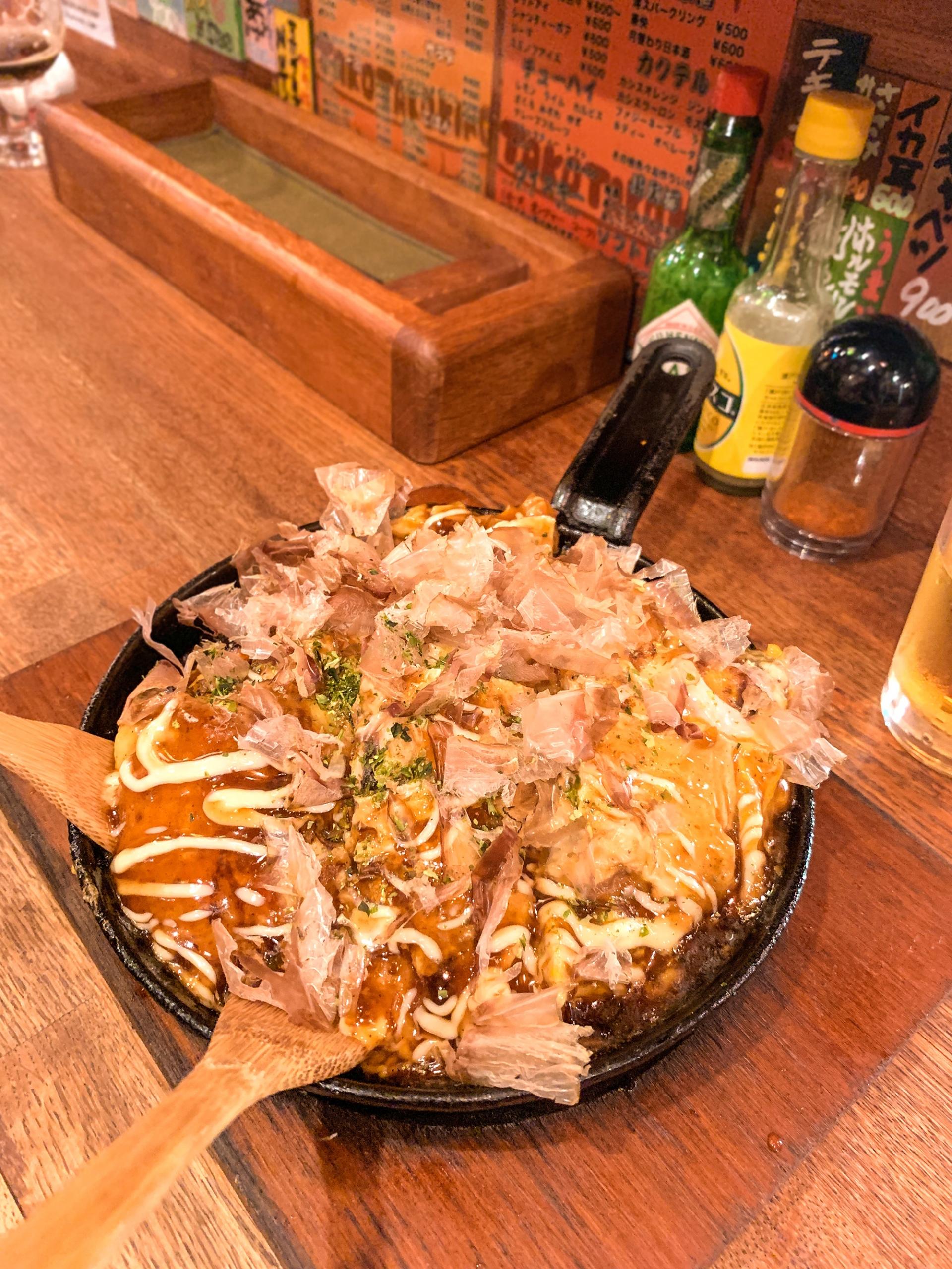 street food in Osaka - Tako Tako King
