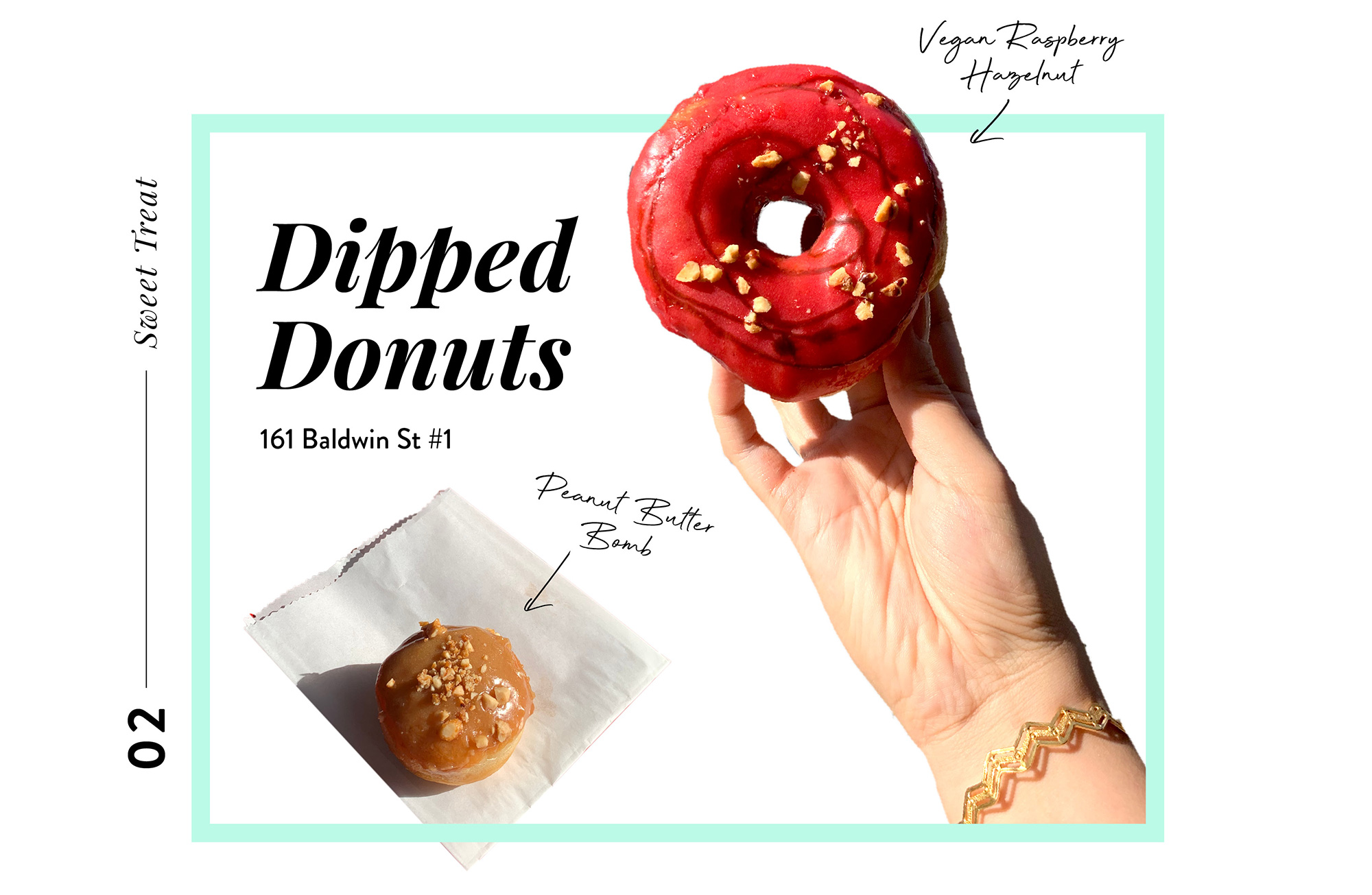 Places to eat in Toronto - dipped donuts