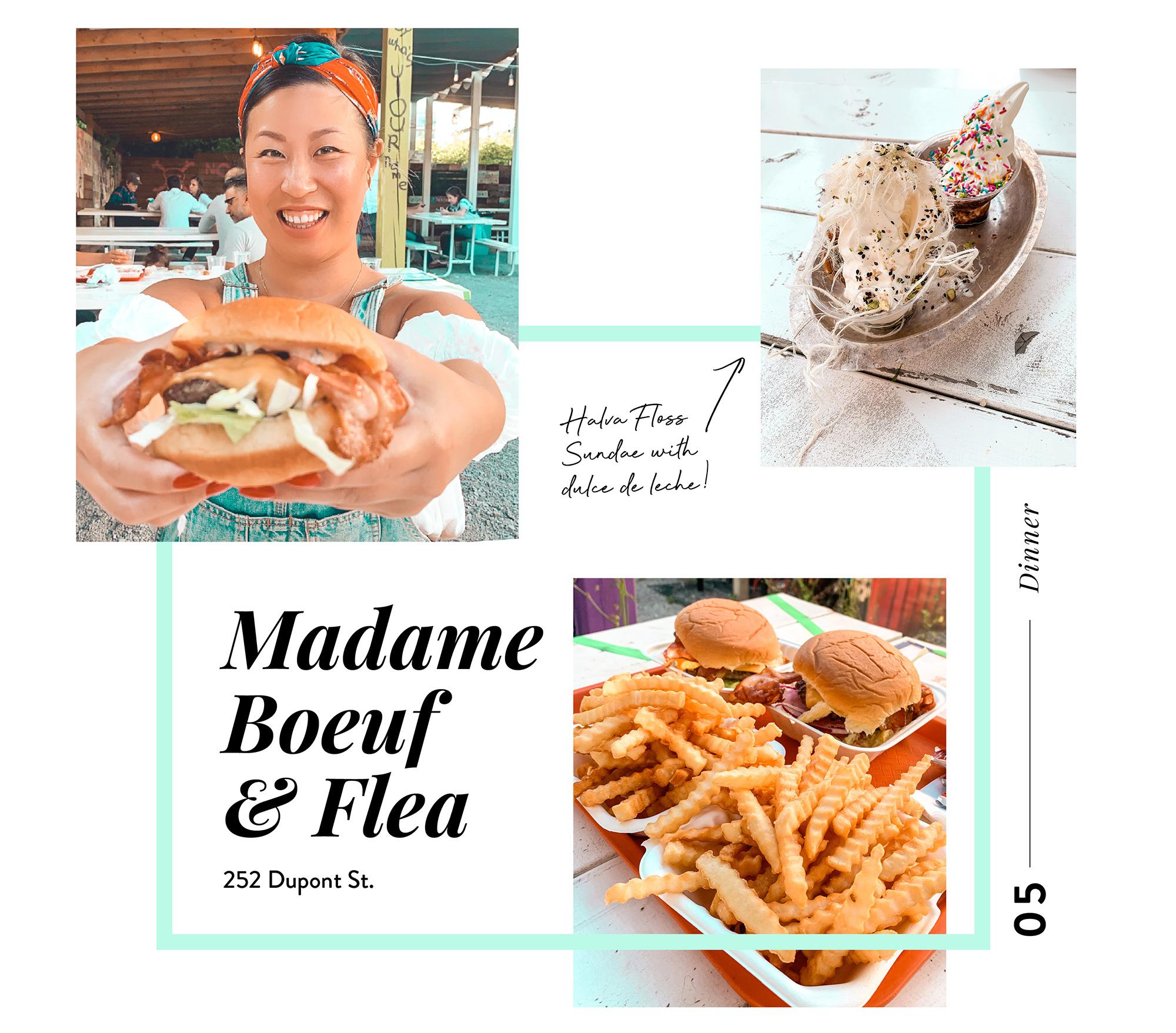 Places to eat in Toronto - madame boeuf + flea