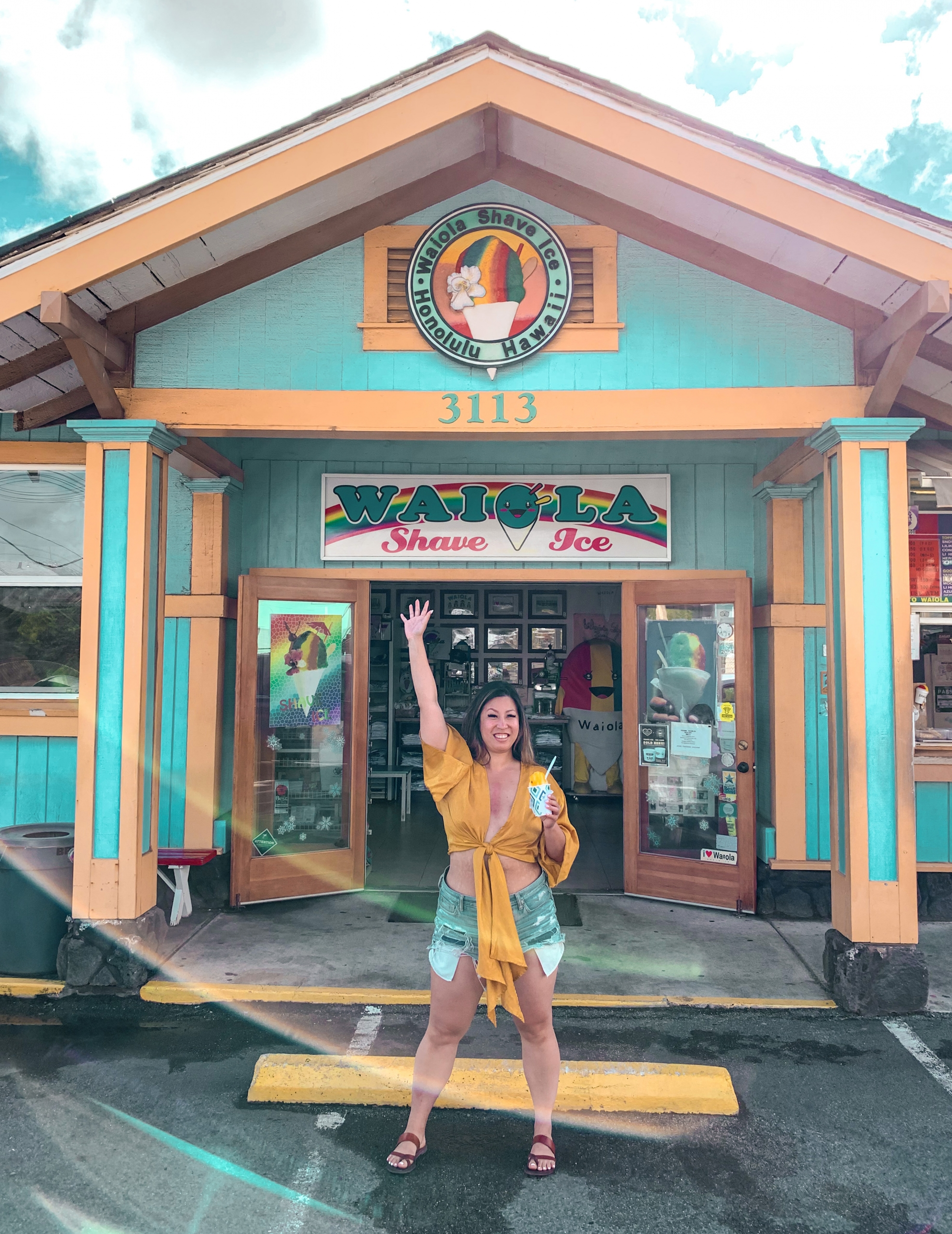 Places to eat in Oahu, Hawaii - Waiola Shave Ice