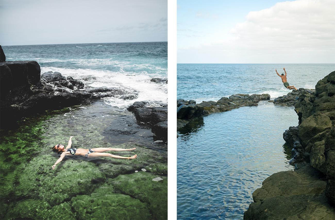 things to do in Kauai - Queen's Bath
