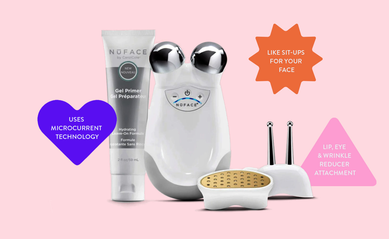 Beauty Devices for all Skin Concerns - NuFace Trinity Facial Toning Device