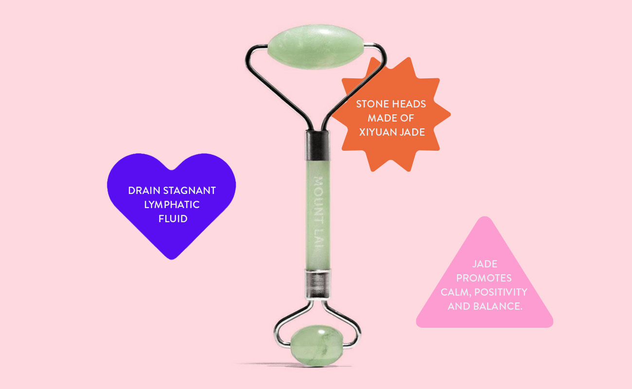 Beauty Devices for all Skin Concerns - Mount Lai Jade Roller