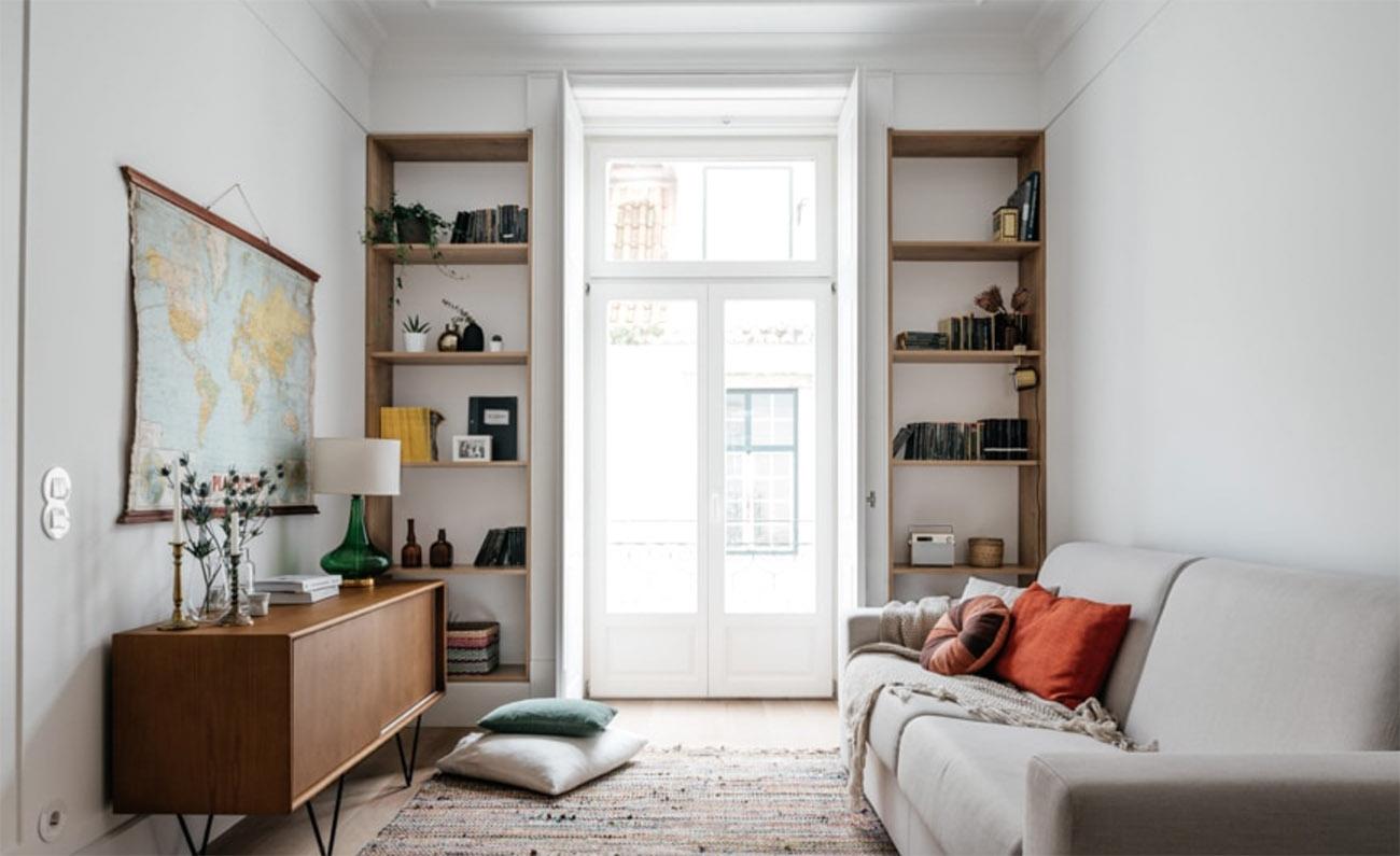Living space at The Lisboans, above Prado Restaurant
