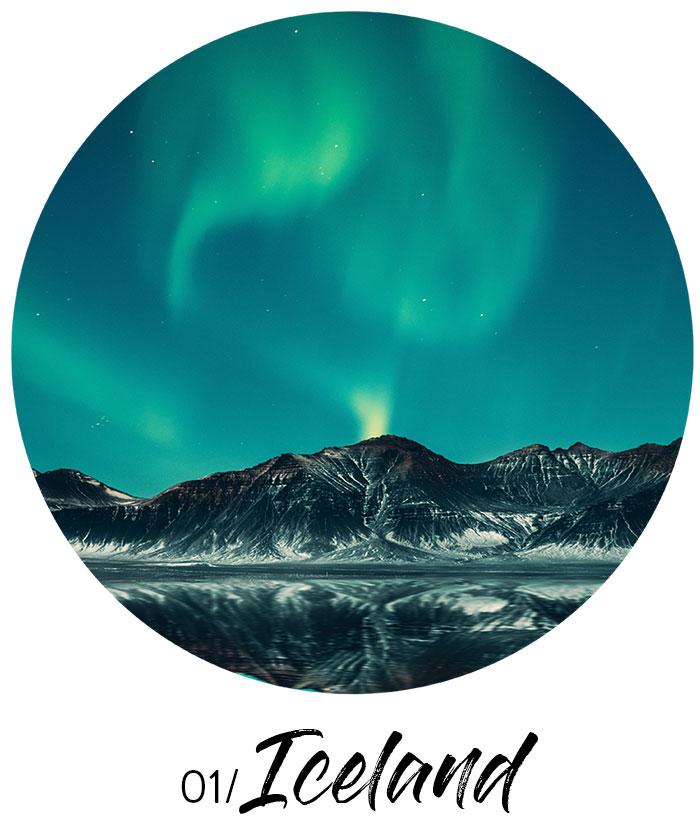 travel wish list - Iceland