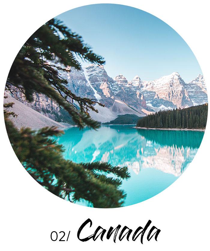 travel wish list - Canada