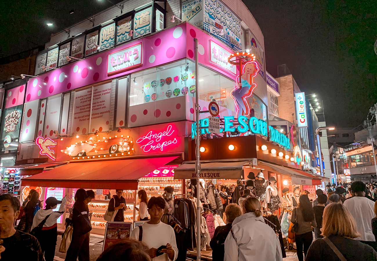 5-day Tokyo Itinerary - Harajuku