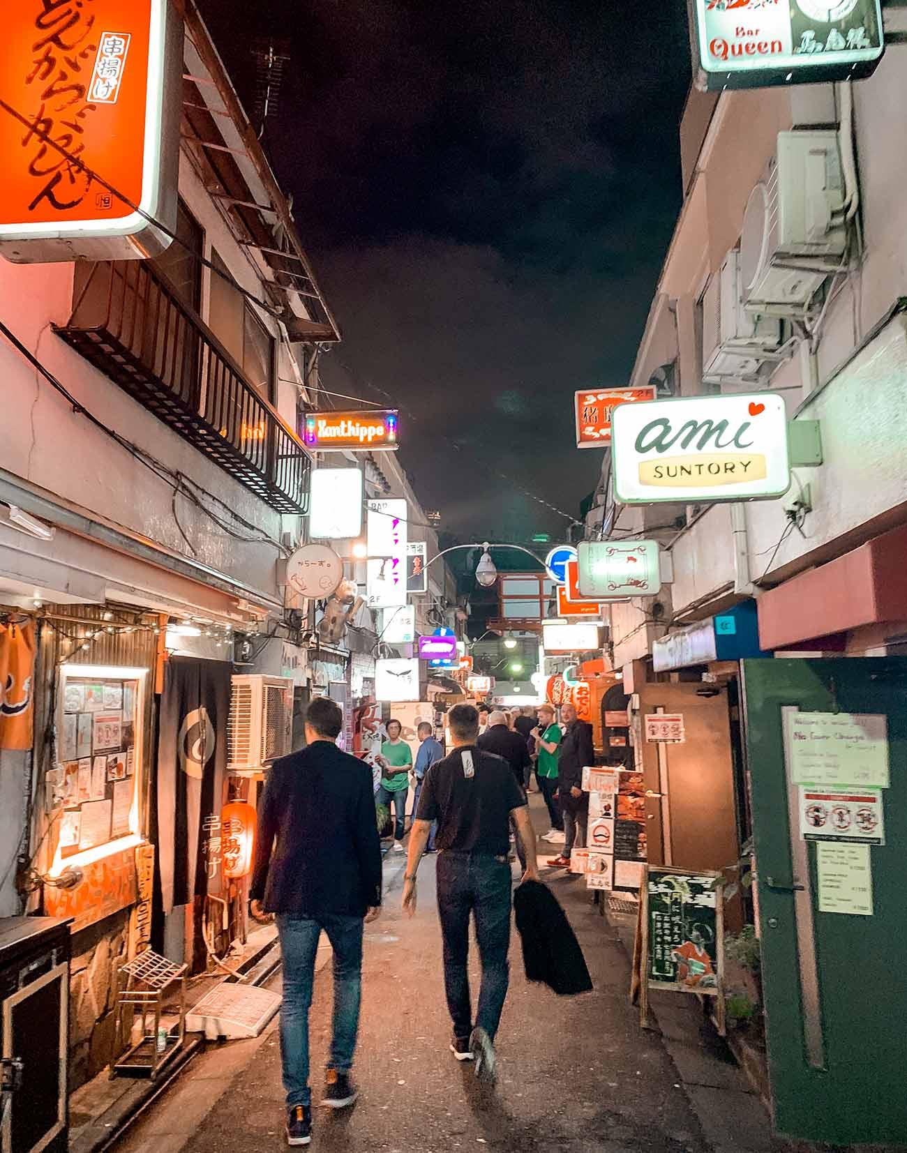 Golden Gai in Shinjuku - Tokyo Itinerary