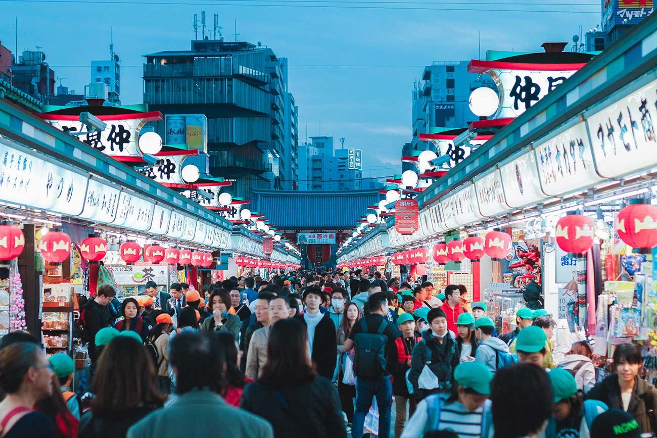 Senso-ji Temple - Kappashi Street