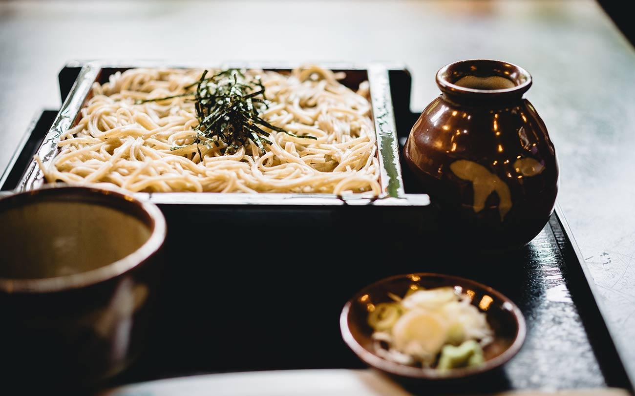 soba tokyo itinerary