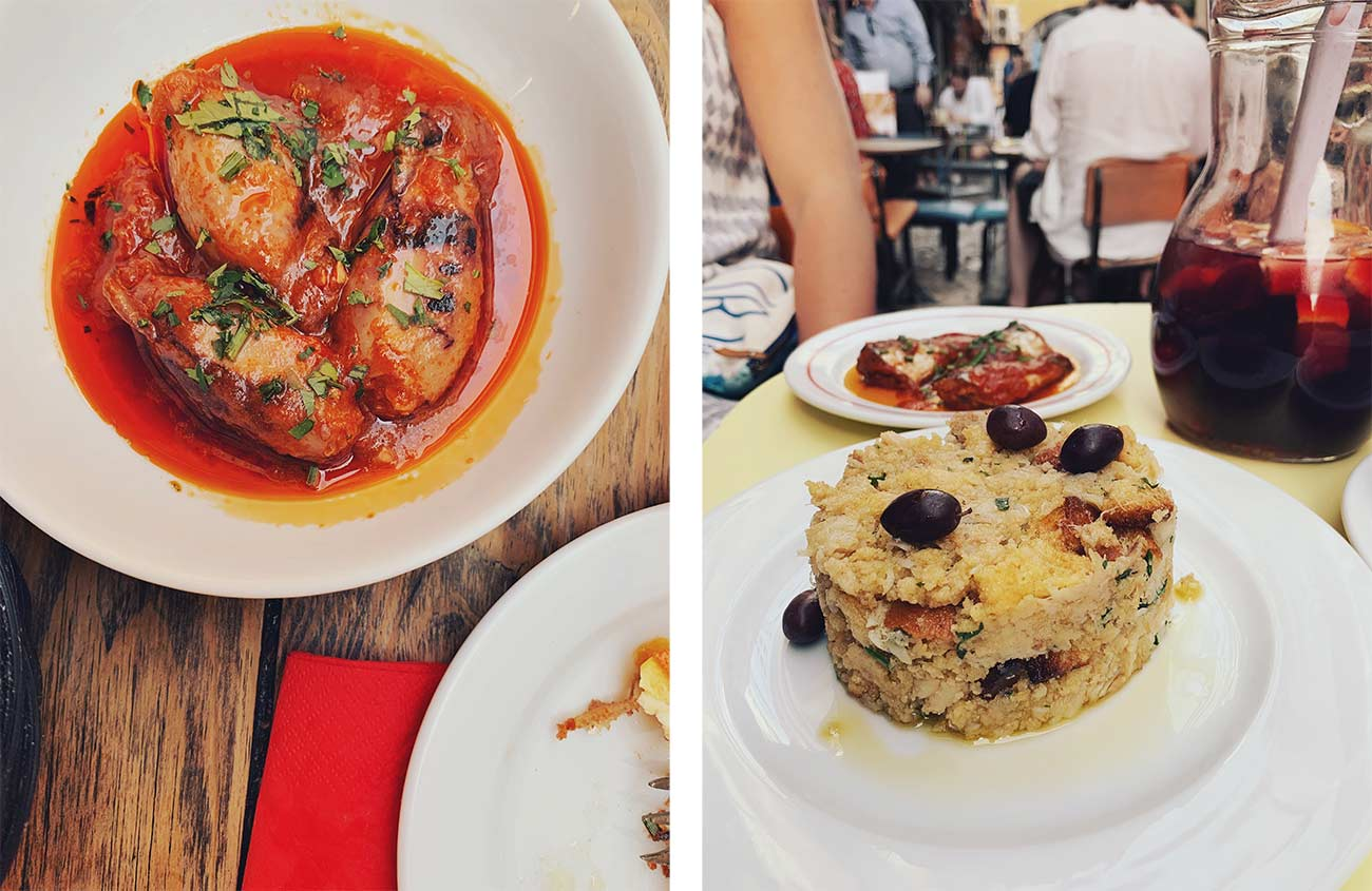 Eating in Lisbon - Sol e Pesca